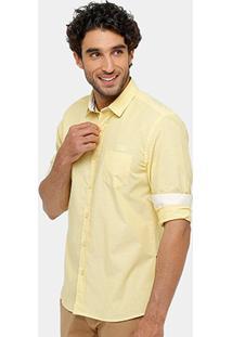 Camisa Triton Tricoline Poá Masculina - Masculino