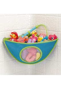 Organizador De Brinquedos Para Banheiro - Munchkin - Masculino-Azul
