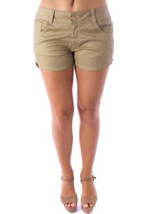 Shorts B Rock Dourado