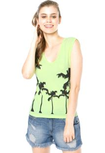 Blusa Hang Loose Coconut Verde