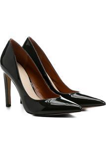 Scarpin Shoestock Essential - Feminino-Verde Escuro