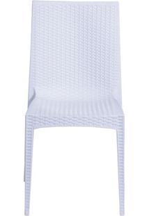 Cadeira Rattan- Branca- 87,3X48X42Cm- Or Designor Design