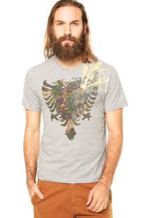 Camiseta Cavalera Águia Cinza