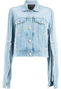Rokh Jaqueta Jeans - Azul