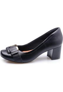 Sapato Neftali Fivela Preto