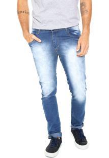 Calça Jeans Fiveblu Reta Toledo Azul
