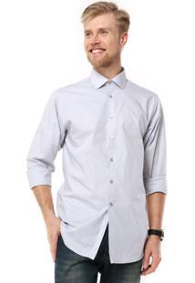 Camisa Calvin Klein White Label Cinza