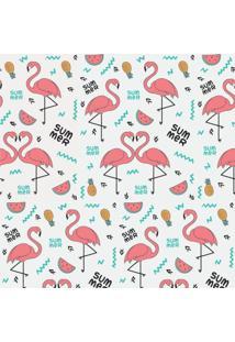 Papel Adesivo Sunset Adesivos De Parede Flamingos Party - Rolo 6,00 X0,50 M