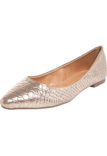 Sapatilha Dafiti Shoes Básica Bronze