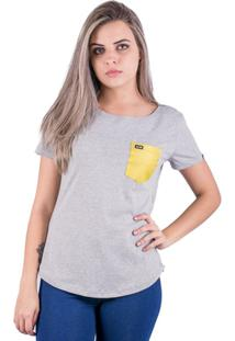 Camiseta Alfa Candy Golden - Feminino