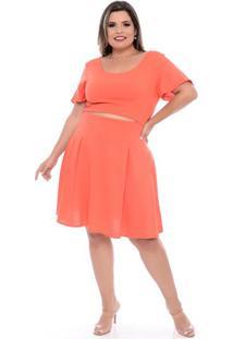 Vestido Colare Plus Size
