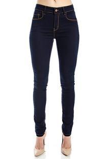 832c0b199 ... Calça Jeans Skinny Cantão - Feminino-Marinho
