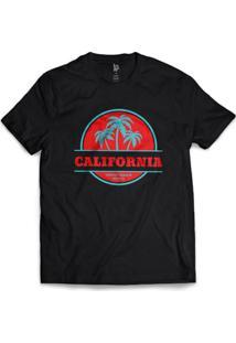 Camiseta Los Fuckers Santa Monica - Masculino-Preto