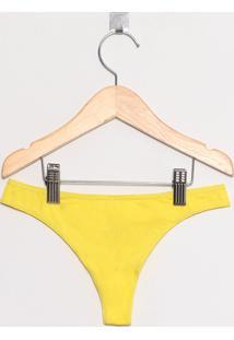 Calcinha Fio Dental Adulto Amarelo Siciliano - Valisere - G