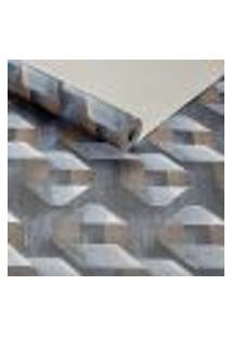 Papel De Parede Importado Vinilico Lavavel Textura Azul 3D