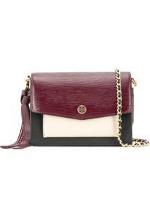 Tory Burch Robinson Colour-Block Shoulder Bag - Preto