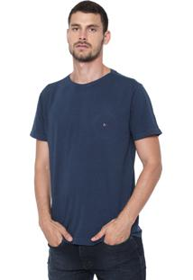 Camiseta Aramis Listrada Azul-Marinho