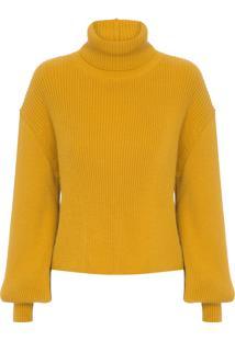 Blusa Feminina Confort Rebeca - Amarelo