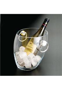 Balde Para Vinho Wolff 8790 Em Vidro Transparente - 1,8 L