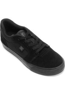 Tênis Dc Shoes Anvil La Masculino - Masculino-Preto