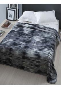 Cobertor Casal Corttex Cinza