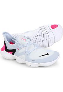 Tênis Nike Free Run 5.0 Feminino - Feminino-Branco+Preto