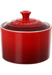 Açucareiro Cerâmica Vermelho Le Creuset