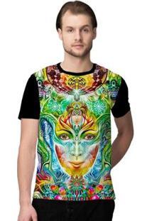 Camiseta Stompy Psicodelica19 Masculina - Masculino-Preto