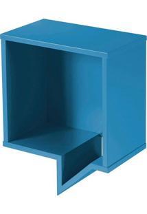 Prateleira Cartoon Quadrada 0821-0-050 Maxima Azul