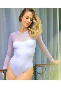Body Sublimer Coeur Poá Branco G