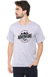 Camiseta Eco Canyon Enjoy Every Moment Cinza