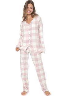 Pijama Any Any Sweet Rose Rosa