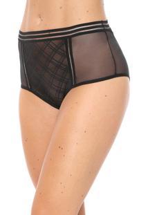Calcinha Calvin Klein Underwear Caleçon Janina Preta