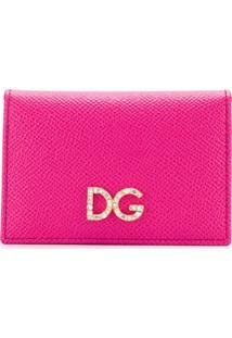 Dolce & Gabbana Carteira Dg - Rosa