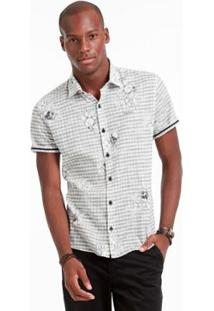 Camisa Mm Docthos - Masculino-Cinza