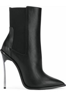 Casadei Ankle Boot Blade - Preto