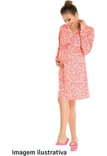 Camisola Adulto Pink - Bela Notte - Gg