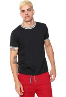 Camiseta Fiveblu Lisa Preto