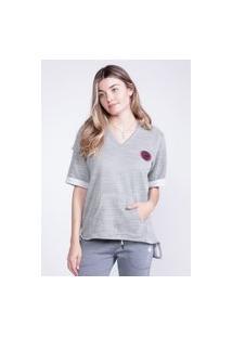 Camiseta Oneill Feminina Especial Canyon Verde Militar