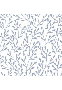 Papel De Parede Galhos Florais 57X270Cm