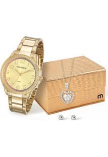 Kit Relógio Feminino Mondaine 53550Lpmvde2K