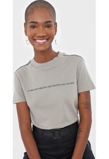 Camiseta Dzarm Dreams Cinza - Kanui