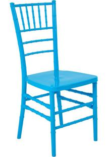 Cadeira De Jantar Tiffany Azul