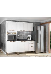 Cozinha Compacta Nevada Iii 9 Pt 3 Gv Branca