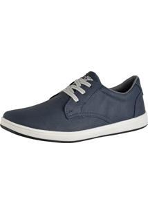 Sapatênis Sapato Casual Cr Shoes Com Cadarço Masculino 1510L Azul