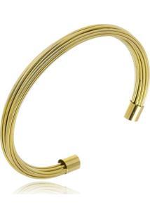 Bracelete Rincawesky Urbi Dourado - Kanui