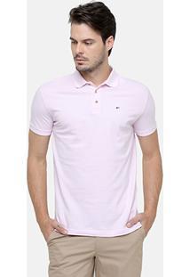 Camisa Polo Ellus Piquet Básica - Masculino