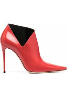Casadei Ankle Boot Sveva - Vermelho