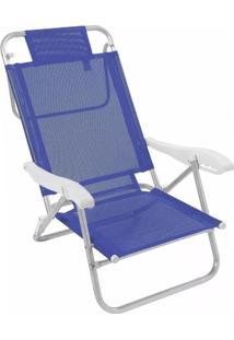 Cadeira Praia Em Aluminio Banho De Sol Marinho Zaka
