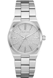 Relógio Michael Kors Channing Feminino - Feminino-Prata